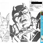 Frank Miller Loose Pencils and Bob McLeod Inks