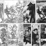Gene Colan Pencils and Bob McLeod Grey Wash Inks
