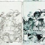 Carmine Infantino Pencils and Bob Wiacek Inks