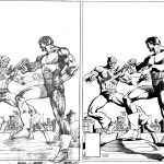 Frank Miller Pencils and Bob McLeod Inks