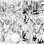 Rich Buckler Breakdowns and Bob McLeod Finishes