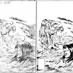 John Buscema Pencils and Bob McLeod Inks