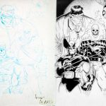 Art Adams Sketch and Tim Townsend Finishes