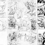 Jim Sherman Loose Pencils and Bob McLeod Inks
