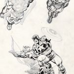 John Buscema Pencils and Scott Williams Inks