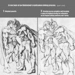 Rubinstein Inks and Michael Netzer Pencils
