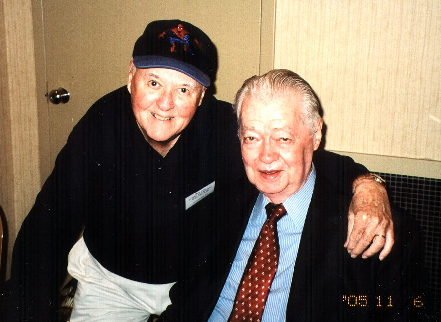 Joe Sinnott w/ Murphy at the 2005 Boston Comic Book & Toy Spectacular Show